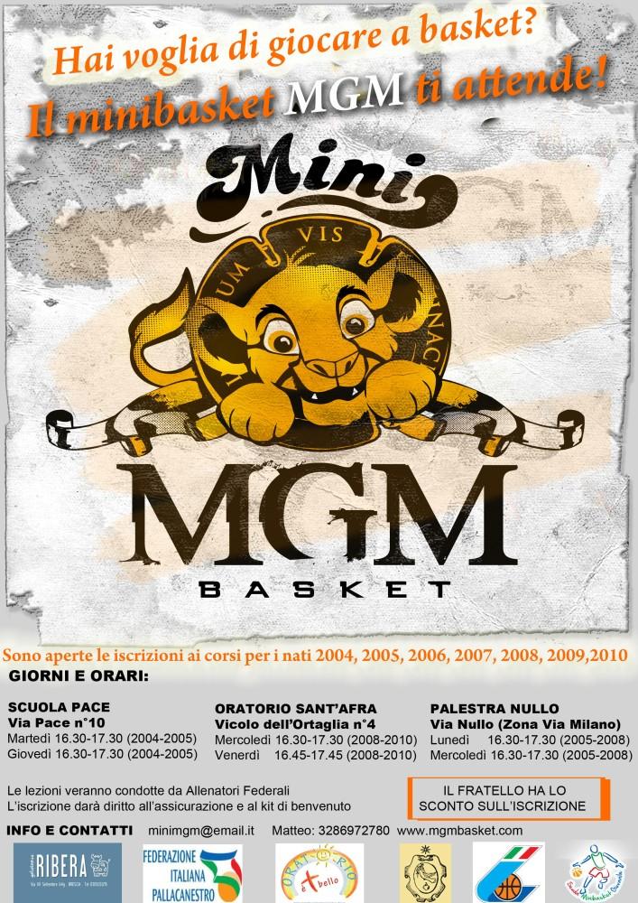 MINI MGM Basket